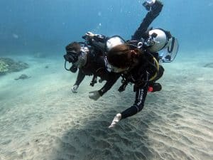 diving photography